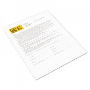 Xerox Revolution Digital Carbonless Paper, 8 1/2 x 11, Coated Fr/Bk, Wh, 500 Shts XER3R12435 3R12435