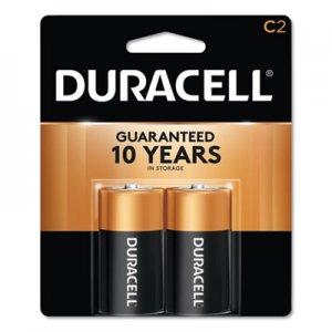 Duracell CopperTop Alkaline Batteries, C, 2/PK DURMN1400B2Z MN1400B2Z