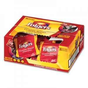 Folgers Coffee, Classic Roast, 0.9 oz Fractional Packs, 36/Carton FOL06125 2550006125