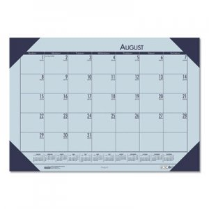 House of Doolittle Recycled EcoTones Academic Desk Calendar, 18.5 x 13, Cordovan Corners, 2019-2020 HOD012573 0125-73