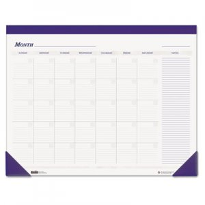 House of Doolittle Nondated Desk Pad Calendar, 22 x 17, Blue HOD464 464