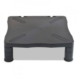 Kelly Computer Supply Adjustable Monitor Stand, 13-1/4 x 13-1/2 x 2 to 4, Black KCS10367
