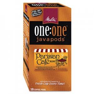 Melitta One:One Coffee Pods, Parisian Cafe, 18 Pods/Box MLA75424 75424