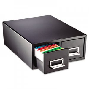 SteelMaster Drawer Card Cabinet Holds 3000 6 x 9 cards, 20 3/8 x 16 x 8 3/8 MMF263F6916DBLA