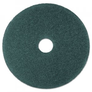 "3M Cleaner Floor Pad 5300, 19"" Diameter, Blue, 5/Carton MMM08412 5300"