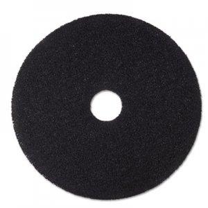 "3M Low-Speed Stripper Floor Pad 7200, 19"" Diameter, Black, 5/Carton MMM08381 7200"