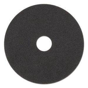 "3M Low-Speed Stripper Floor Pad 7200, 17"" Diameter, Black, 5/Carton MMM08379 7200"