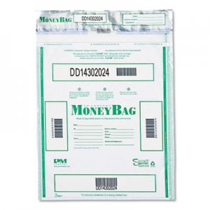 SecurIT Triple Protection Tamper-Evident Deposit Bags, 15 x 20, Clear, 50/Pack ICX94190077 58050