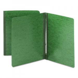 Smead Side Opening Pressboard Report Cover, Prong Fastener, Letter, Green SMD81451 81451
