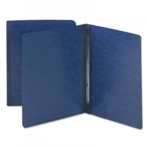 Smead Side Opening Pressboard Report Cover, Prong Fastener, Letter, Dark Blue SMD81351 81351