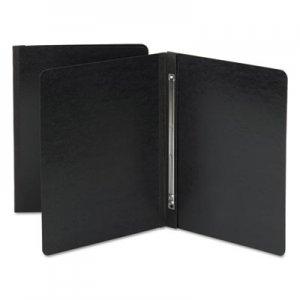 Smead Side Opening Pressboard Report Cover, Prong Fastener, Letter, Black SMD81151 81151
