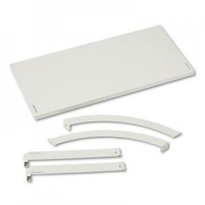 HON Verse Panel System Hanging Shelf, 30w x 12.75d, Gray BSXVSH30GYGY HBV-VSH30.Q