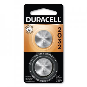 Duracell Lithium Medical Battery, 3V, 2/Pk DURDL2032B2PK DL2032BPK