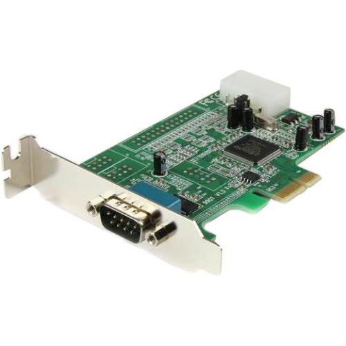 StarTech.com 1 Port Low Profile PCI Express Serial Card - 16550 PEX1S553LP