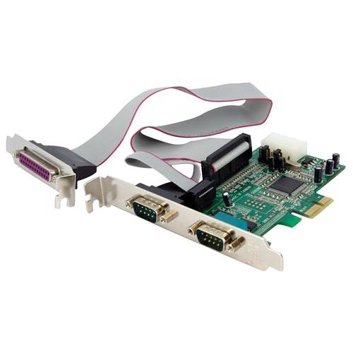 StarTech.com 2S1P PCIe Parallel Serial Combo Card PEX2S5531P