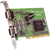 Brainboxes 2-port Universal PCI Serial Adapter UC-313