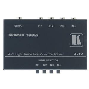 Kramer 4-Port Video Switch 4X1V