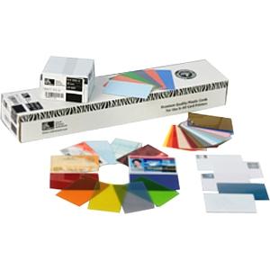 Zebra Premier Blank PVC Card 104523-116