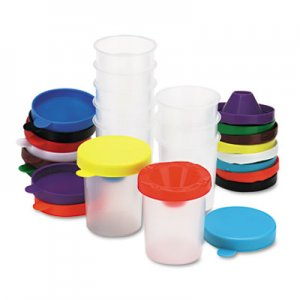 Chenille Kraft No-Spill Paint Cups, 10/Set CKC5100 5100