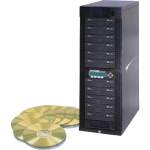 Kanguru 11 Target, 24x DVD Duplicator with Internal Hard Drive DVDDUPE-SHD11