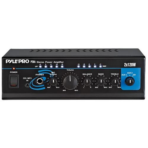 Pyle Power Amplifier PTA4