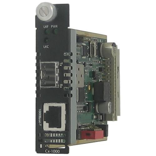 Perle Gigabit Ethernet Managed Media Converter 05052190 CM-1110-SFP