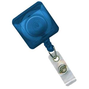 Brady Square Translucent Spring Clip Badge Reel 2120-5712