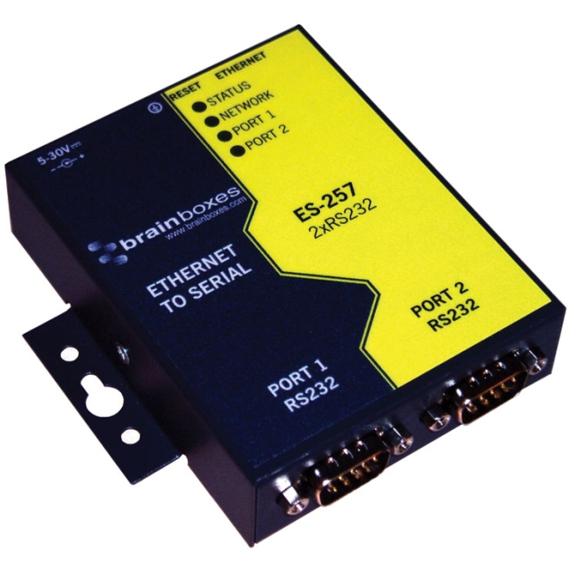 Brainboxes Ethernet To Serial Device Server ES-257