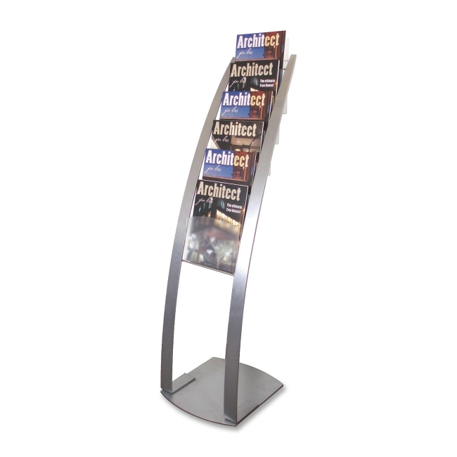 Deflect-o Contemporary Literature Floor Stand 693145