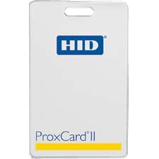 HID ProxCard II Clamshell Security Card 1326LSSMV 1326