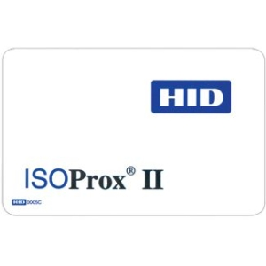 HID ISOProx II Security Card 1386LGGNV 1386