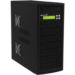Vinpower Digital 1:7 CD/DVD Duplicator ECON-S7T-DVD-BK
