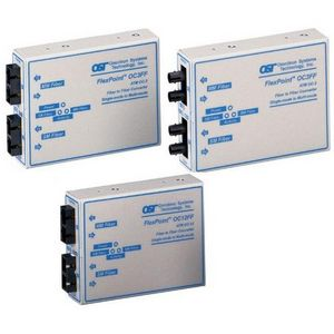 Omnitron FlexPoint Single-Mode to Multimode Fiber Transceiver 4450-0