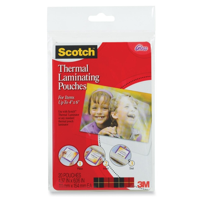 Scotch Thermal Laminating Pouch TP590020