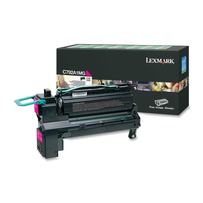 Lexmark Return Program Toner Cartridge C792A1MG