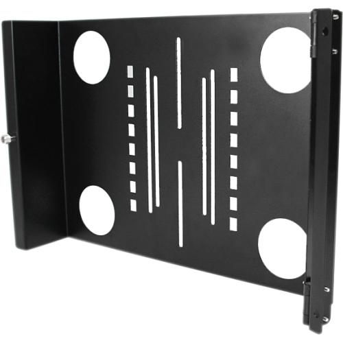 StarTech.com Universal Swivel VESA LCD Mounting Bracket for 19in Rack or Cabinet RKLCDBKT