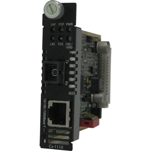Perle Gigabit Ethernet Media Converter 05052950 CM-1110-S1SC40U