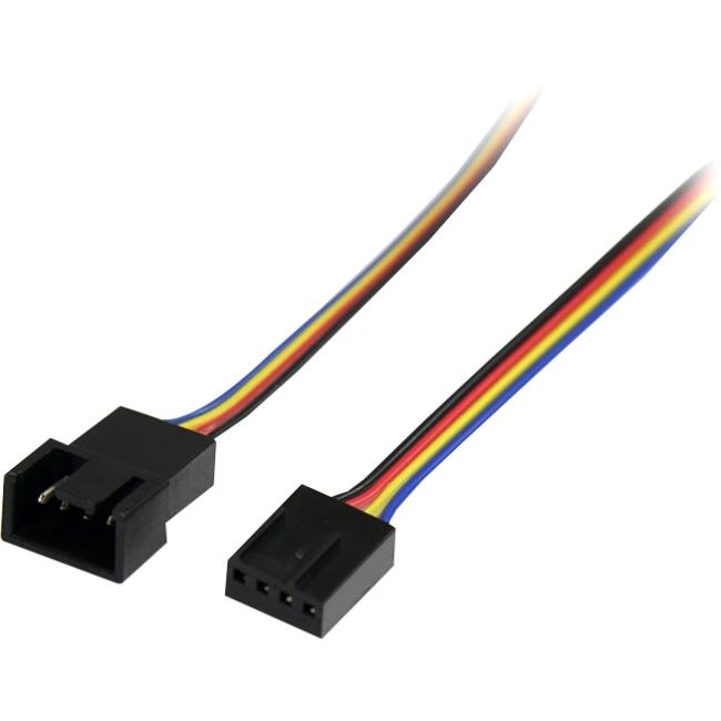 StarTech.com 12in 4 Pin Fan Power Extension Cable FAN4EXT12