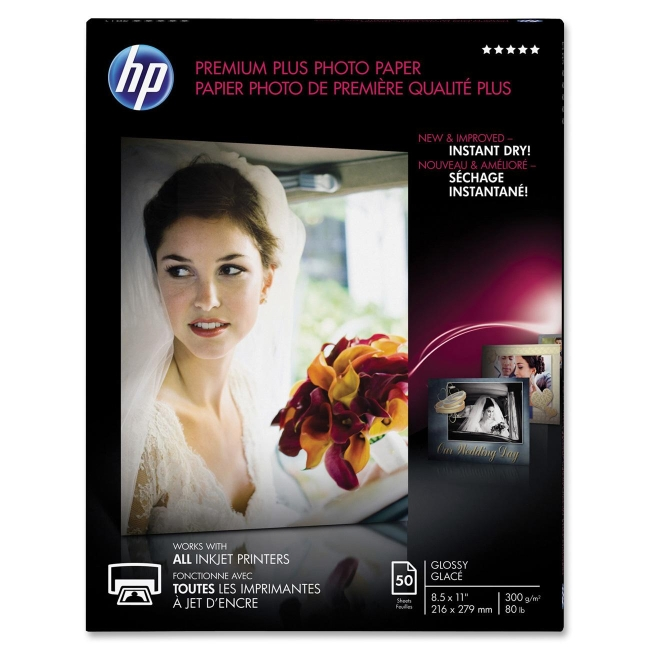 HP Premium Plus Photo Paper CR664A
