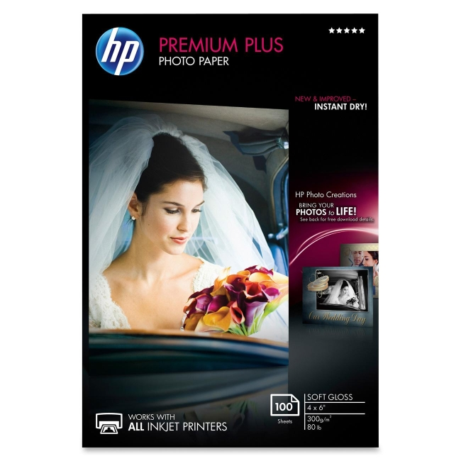 HP Premium Plus Photo Paper CR666A