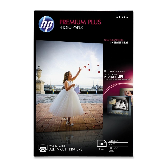 HP Premium Plus Photo Paper CR668A