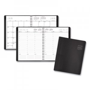 At-A-Glance Contemporary Weekly/Monthly Planner, Column, 8 1/2 x 11, Graphite Cover, 2019 AAG70950X45 70-950X-45
