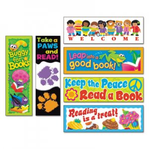 TREND Bookmark Combo Packs, Celebrate Reading Variety #1, 2w x 6h, 216/Pack TEPT12906 T12906