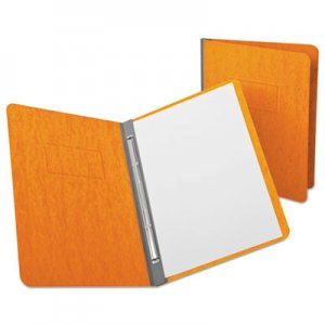 """Oxford PressGuard Report Cover, Prong Clip, Letter, 3"""" Capacity, Tangerine OXF12731 12731EE"""
