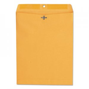 Genpak Kraft Clasp Envelope, #97, Cheese Blade Flap, Clasp/Gummed Closure, 10 x 13, Brown Kraft, 100/Box UNV35267