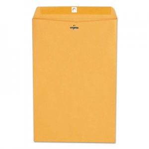 Genpak Kraft Clasp Envelope, Center Seam, 28lb, 10 x 15, Brown Kraft, 100/Box UNV35268