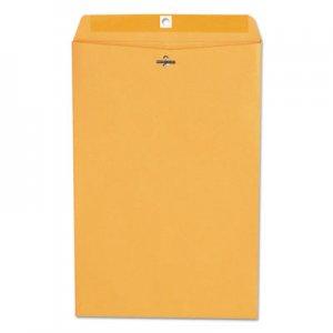Genpak Kraft Clasp Envelope, #98, Square Flap, Clasp/Gummed Closure, 10 x 15, Brown Kraft, 100/Box UNV35268