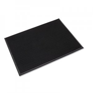Crown Mat-A-Dor Entrance/Antifatigue Mat, Rubber, 36 x 72, Black CWNMAFG62BK MA FG62BK