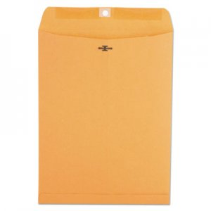 Genpak Kraft Clasp Envelope, #93, Cheese Blade Flap, Clasp/Gummed Closure, 9.5 x 12.5, Brown Kraft, 100/Box