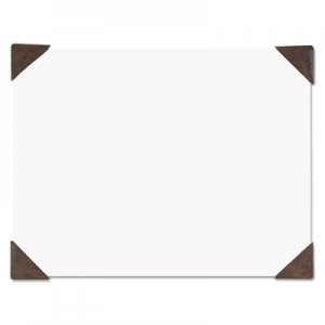 House of Doolittle 100% Recycled Doodle Desk Pad, Unruled, 50 Sheets, Refillable, 22 x 17, Brown HOD40003 400-03